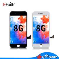 reemplazos de pantalla lcd para teléfonos al por mayor-Pantalla LCD de alta calidad para iPhone 8 Pantalla LCD Reemplazo de reparación de ensamblaje de digitalizador táctil para teléfono 8 Envío gratuito de DHL