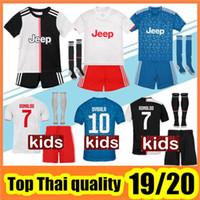 Wholesale soccer uniforms kids for sale - Group buy 19 kids kit soccer jersey child Football Shirt uniform