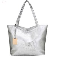 Wholesale leather laser bags for sale - Group buy 2020 New Women Handbag Laser Hologram Leather Shoulder Bag Lady Single Shopping Bags Large Capacity Casual Tote Bolsa Silver Xew