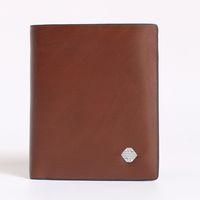 billetera de cuero hombre marca al por mayor-Mens Brand Wallet envío gratis Top de cuero de los hombres del diseñador con las carteras para los hombres bolsa de polvo de la caja del bolso Titular de la tarjeta corta bolsillo de la moda