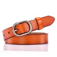 Wholesale japanese canvas prints for sale - Group buy 2020 Genuine leather belt Japanese round hole lady fashion casual leather belt one substitute