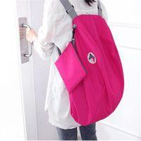 Wholesale function bags for sale - Diagonal Package Single Shoulder Bag Multi Function Knapsack Travel Women Colors Mix Waterproof Zipper Admission lsf1