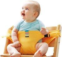 correas para asientos infantiles al por mayor-Silla para bebé Cinturón de seguridad portátil Asiento para bebés Producto Alimentación para niños pequeños Almuerzo Seguridad Silla alta Correa para el hombro Silla para bebé Cinturón de seguridad
