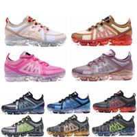 ingrosso signore di scarpe borgogne-2019 Vapors 2.0 Knit Woman Shock Running Shoes Utility Fashion Olive Burgundy Crush Designer da uomo Sneakers sportive da donna 36-45