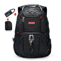 Wholesale swiss laptop for sale - Group buy Brand Swiss Laptop quot Backpack External USB Charge Swiss Computer Backpacks Anti theft Backpack Waterproof Bags for Men Women