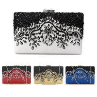 bf28d7c370 Belle nuove donne di moda perline da sposa pochette da sera festa di nozze  prom portafoglio borsa borse e portafogli fatti a mano