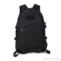 bolsas de mochila del ejército al por mayor-11 Estilos doble mochila del hombro del ejército del tácticos mochilas impermeable 3D de Turismo Mochila Escalada Senderismo Trekking Mochila Bolsa G576F