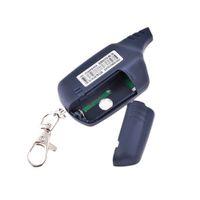 iki yönlü araba alarm sistemleri toptan satış-100% Orijinal 2-way A91 Lcd Uzaktan Kumanda Anahtarı Için Starline A91 Iki Yönlü Araç Alarm Sistemi Rus 2-way Alarm Oto-start J190523