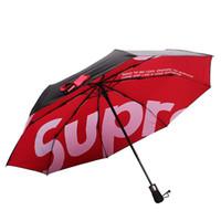 pongee guarda-chuva venda por atacado-Clone Vermelho Guarda-chuva de Golfe de Boa Qualidade Automático de Longo-Lidar Com Umbrella Guarda-Chuva Ensolarado Pongee Adulto Cor Guarda-chuva