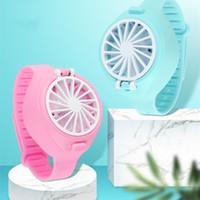 Wholesale smallest fan resale online - 2020 Fan Watch Handheld Small Fan Small Appliances Creative Air Conditioning Fan Mini Lazy Children s gifts T2I5913