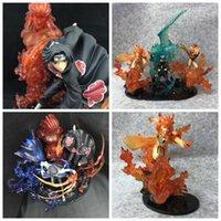 ingrosso giocattoli decorativi per ufficio-NARUTO Action Figures Kakashi Toys Ufficio Decorazione della casa Stili multipli Giapponese Anime Fan regalo 105ls F1