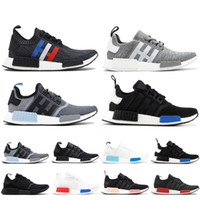 2561f77434a3c Wholesale core shoes for sale - NMD R1 R1 Core Black Lush Red Running Shoes  Men