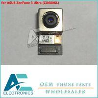 ücretsiz gemi kamera toptan satış-ASUS ZenFone 3 için geri Kamera Arka Kamera Modülü Ultra ZU680KL Flex Kablo Ücretsiz Shiping