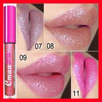 Wholesale lipstick color long lasting for sale - Lip makeup CmaaDu Long Lasting Liquid Lipstick Makeup Metallic Shimmer Matte Lipstick Lip Gloss Cosmetics Lipgloss Colors