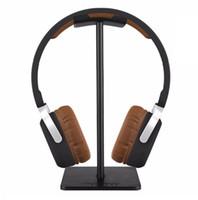 kulaklık takmak toptan satış-Moda Yeni Arı Kulaklık Standı Pratik Kulaklık Tutucu Kulaklık Gösterisi Raf Alüminyum Dirsek Destek Cihazı (Perakende)