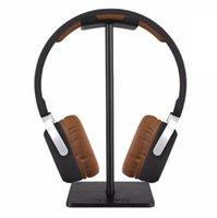 kopfhörerhalter stehen großhandel-Modische New Bee Kopfhörer Stehen Praktische Kopfhörer Halter Headset Show Regal Aluminium Halterung Unterstützung Gerät (Einzelhandel)