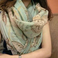 Wholesale cotton flower printed pashmina shawl for sale - Group buy Autumn New Flower Scarves for Women Elegant Scarves Long Floral Printed New Design Calssy Soft Shawls and Wraps Drop shipping