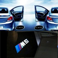 luzes fantasma bmw bem-vindos venda por atacado-Maxup 1pair M5-Logo Para BMW M6 M3 E60 E53 Z4 E64 3 5 6 7 Series GT X5 X3 porta do carro Bem-vindo Projector Laser Santo luz Nenhum ruído