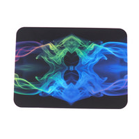 19 colors Silicone Wax dab mat pad with rectangle sheets pads mat for dabber tool for dry herb dab jars
