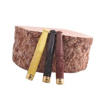 Wholesale handmade cigarette holder resale online - Handmade solid wood cigarette holder sandalwood advanced filter removable male wood