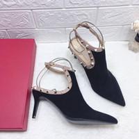ingrosso migliori scarpe sexy donna-vendita 2019 casual scarpe firmate sexy in vera pelle migliori scarpe tacchi alti di alta qualità pantofole sandali pompe donna sneaker stivaletti 8 cm