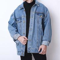 ropa vintage de diseñador al por mayor-19ss Diseñador Jean Chaquetas para hombre Mujer Jeans de lujo Moda Marca Abrigo Primavera Otoño Abrigo Chaqueta Outwear Ropa de calidad superior