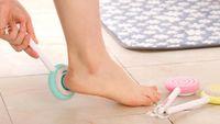 Wholesale foot scrapers resale online - Foot Clean Scruber Hard Skin Remover Scrub Pumice Stone Clean Foot Cute Lollipop Foot File Scraper Scrubber Pedicure tool