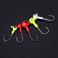Wholesale 20pcs g Leads Hook High Carbon Steel Barbed Hooks Fishing Hooks Fishhooks Pesca Carp Fishing Tackle Accessories