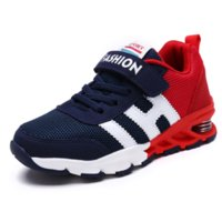 Wholesale new design boy kids shoe resale online - New Design Children Sports Shoes Boys Girls Spring Damping Outsole Slip Patchwork Breathable Kids Sneakers Child Running Shoes