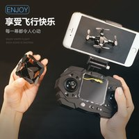 Wholesale helicopter remote toys resale online - Mini RC Drone H Quadrocopter Pocket Remote control With P Camera Aerial Photography Helicopter Birthday Toys For Friend