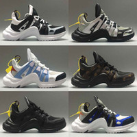 Wholesale men s fashion low shoes for sale - Group buy New Brand Women ArchLight Sneaker Leather Trainers for Men Womens Triple S Running Shoes Fashion Casual Outdoor Fashion Show