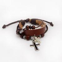 unendlichkeit kreuz perle großhandel-Charms Armbänder Großhandel coolsten Perlen Kreuz Armbänder Infinity Bracele