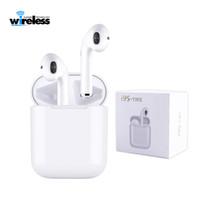 cep telefonu kutuları toptan satış-I9s TWS bluetooth 5.0 Mini Şarj Kutusu Ile Bluetooth Kablosuz Kulaklık kulaklık Kulakiçi Spor Kulaklık Android Akıllı Cep Telefonu Için