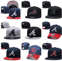Wholesale brave hat for sale - Group buy Top Quality Braves caps baseball hats Snapback Embroidered Logo Baseball Caps of mens womens drop shipping