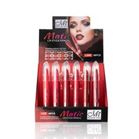 Wholesale menow lipsticks for sale - Group buy 48pcs box MENOW Colors Matte Lipsticks Waterproof Velvet Lipstick Lip Sticks Cosmetic Easy to Wear Matte Batom Makeup Lipstick L549