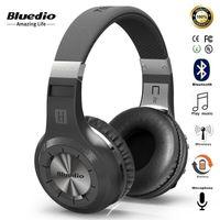 mejores marcas de auriculares al por mayor-Bluedio Turbine Hurricane H Bluetooth 4.1 Auriculares estéreo inalámbricos Auriculares