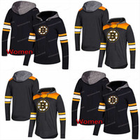 hoodie david toptan satış-Boston Bruins AD Hoodies Formalar Erkekler / Kadınlar 33 Zdeno Chara 88 David Pastrnak 37 PatriceBergeron 63 Marchand Hoodies Formalar Tişörtü