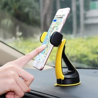 Wholesale new car airbag resale online - New hot car gm multi functional creative airbag rotation mobile phone navigation car suction bracket Universal