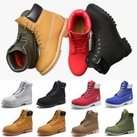 ae5f027c74 Timberland boots designer 10061 timberlands Original Timberland Marca  stivali Donna Uomo Designer Sport Rosso Bianco Inverno Sneakers TBL Casual  Scarpe da ...