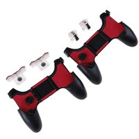 Wholesale game controller for iphone for sale - Group buy 5 in Handle Foldable Controller For PUBG Game Pad Grip Fire Shooter Button For IPhone Android Gamepad Joystick Mobile Phone