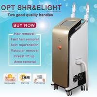 ipl haarentfernung radio großhandel-2019 Vertikale OPT SHR IPL-Maschine Schmerzfreie dauerhafte IPL-Haarentfernung Radio IPL Elight Machine Skin Treatment