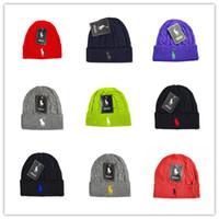 patrones de lana de punto sombreros al por mayor-Patrón de gafas de corazón Beanie gorro de moda invierno punto lana de esquí gorra de polo ouHeadgear Sombrero de cabeza Sombrero de esquí cálido sombrero