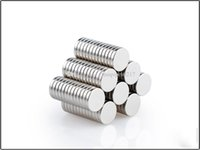 Wholesale rare earth magnets strong resale online - Multiple dimensions Super Strong Disc Round Rare Earth Neodymium Magnets N35 Craft Model Plating Nickel ADD LOGO