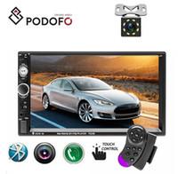 telemóvel tv auto venda por atacado-Podofo 2 din Rádio Do Carro 7