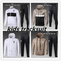 Wholesale boys hoodies for sale - 2018 KIDS hoodie tracksuit Sweatshirt Hoodies chandal CR7 JUVENTUS Soccer Jersey JUVE DYBALA Camisetas Futbol Camisas Maillot
