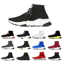 koşu koşucuları toptan satış-sock shoes New designer socks Shoes Speed Trainer men Running Shoes Speed Trainers Sock Race Runners women Sports Shoe Luxury shoes size 36-45