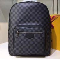 mochila mochila marcas venda por atacado-Designer Mochila Mens Mochila de Luxo Nova Marca de Chegada Duplo Sacos de Ombro Masculino Designer de Escola Bags Shoulder Bag Luxo