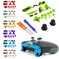 siyah plastik kalem toptan satış-XBOX ONE Elite Galvanik parçaları Xbox one contorller Tornavida ile komple kontrol aksesuarları
