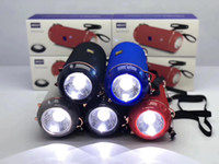 Wholesale altavoz radio resale online - The Latest bluetooth speaker With LED Flashlight Wireless Bluetooth Altavoz Sireless Bluetooth Speaker Support U disk Radio TF card