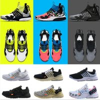 presto rosa großhandel-2019 New Presto Laufschuhe Herren Ultra BR QS Gelb Rosa Prestos Schwarz Air White Oreo Outdoor Jogging Herren Sneakers Sneakers
